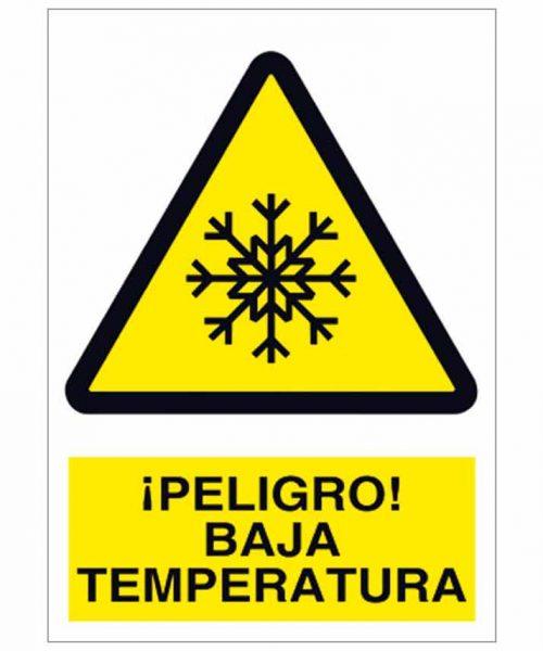 Peligro baja temperatura
