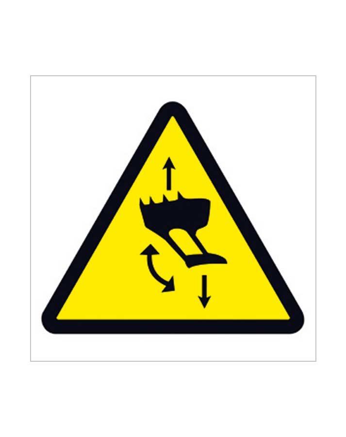 Señal de advertencia a56c