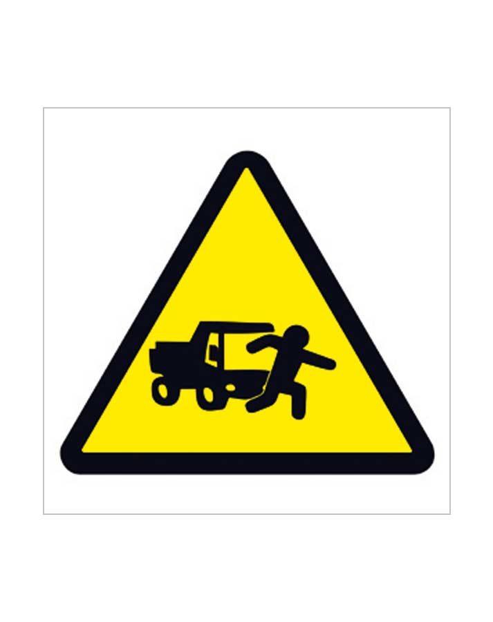 Señal de advertencia a86c