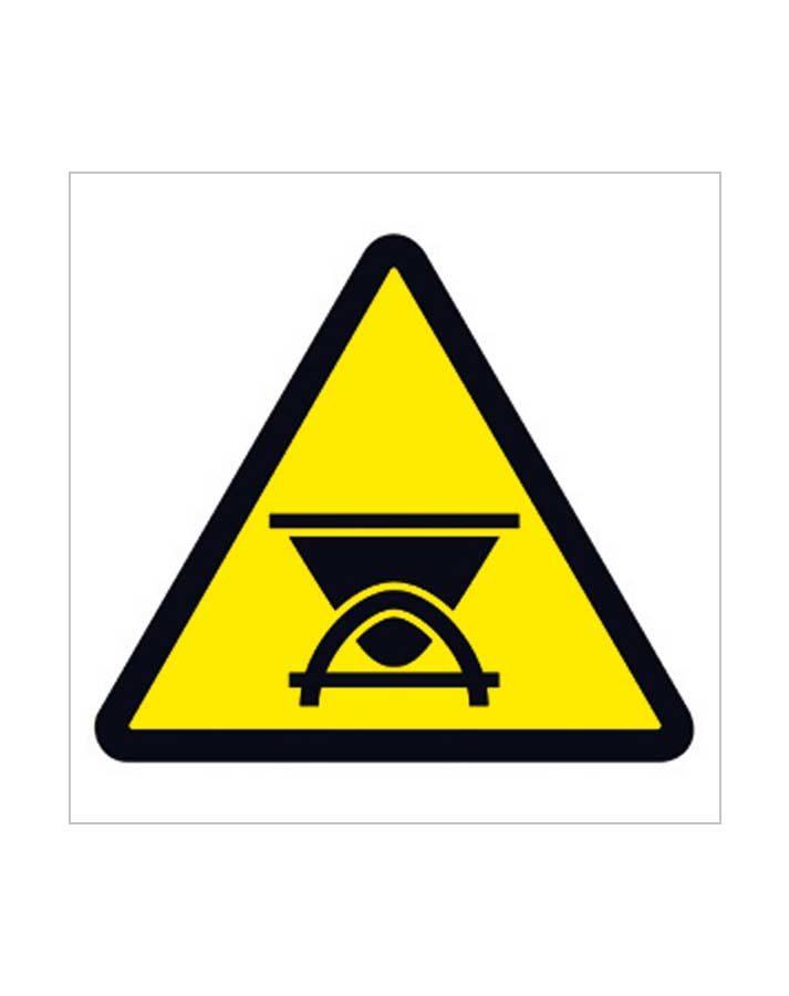 Señal de advertencia a98c