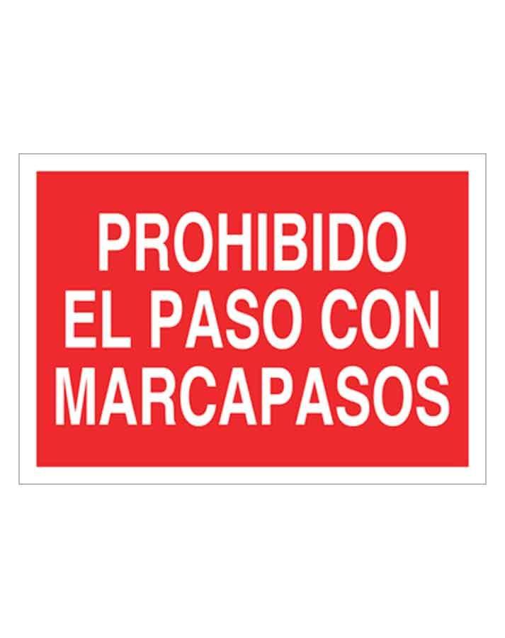 Señal de prohibicion p09t