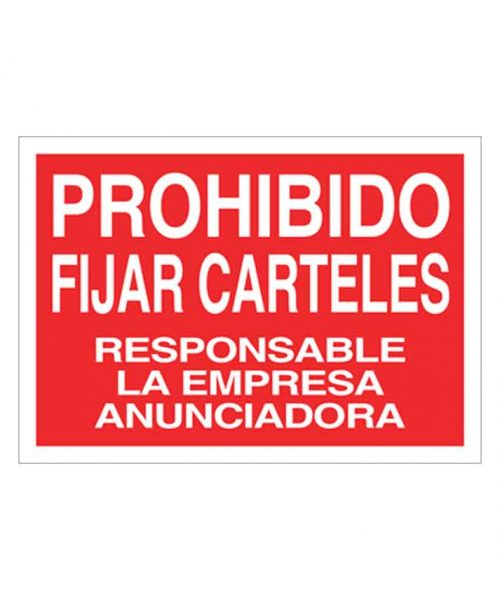 Señal de prohibicion p107t