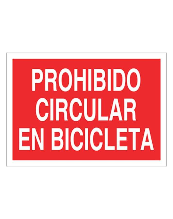Señal de prohibicion p13t