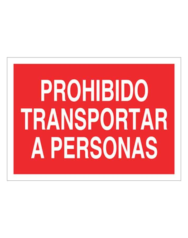 Señal de prohibicion p15t