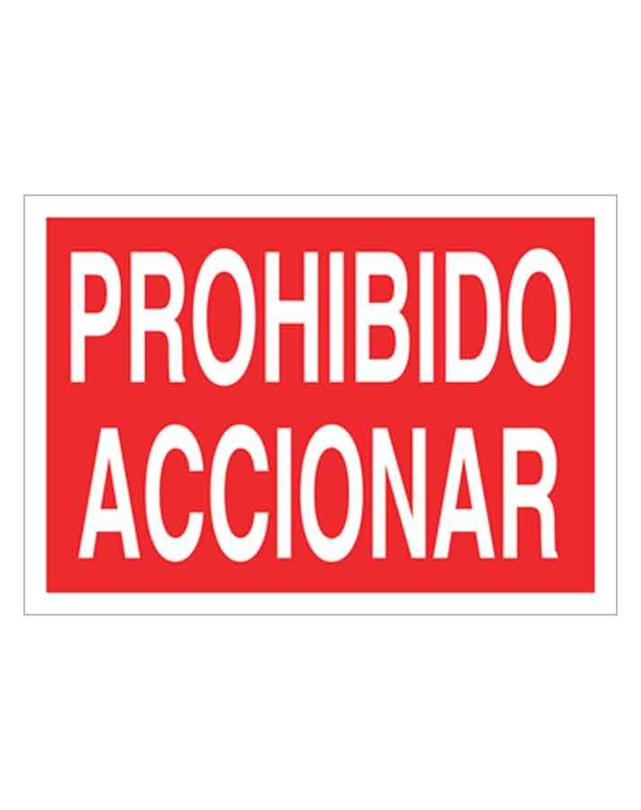 Señal de prohibicion p17t