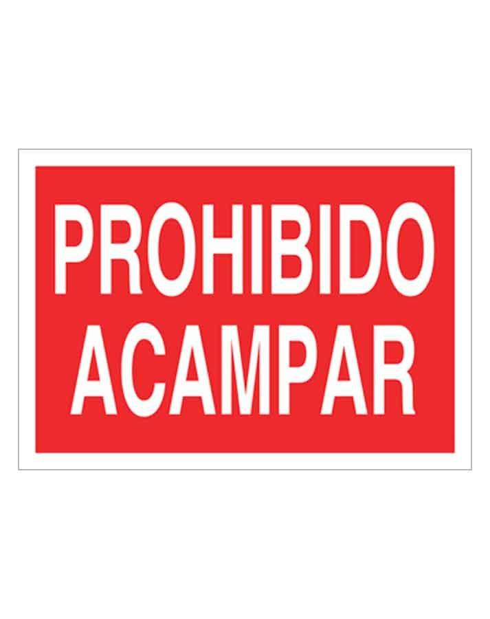 Señal de prohibicion p28t