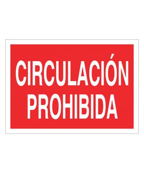 Señal de prohibicion p36t