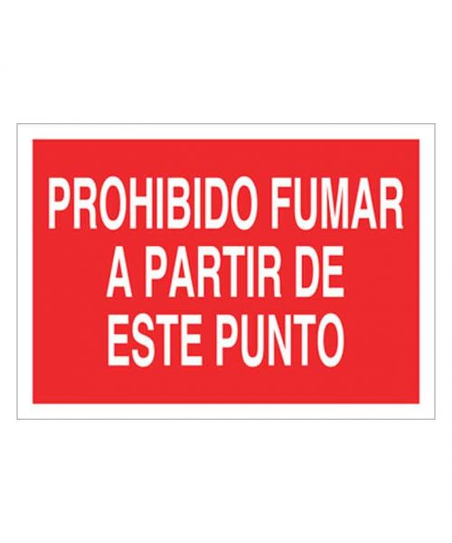 Señal de prohibicion p46t