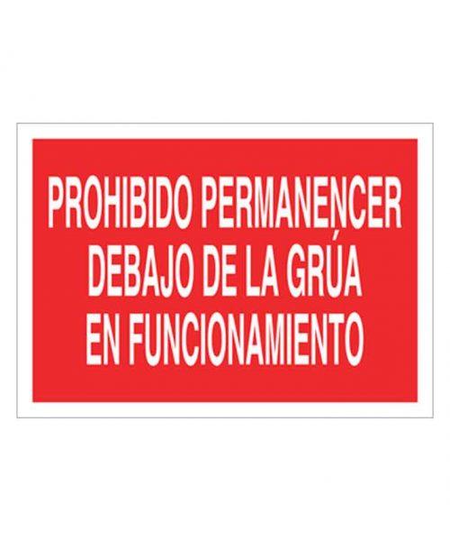 Señal de prohibicion p56t