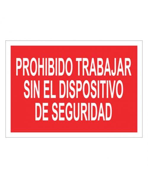 Señal de prohibicion p58t