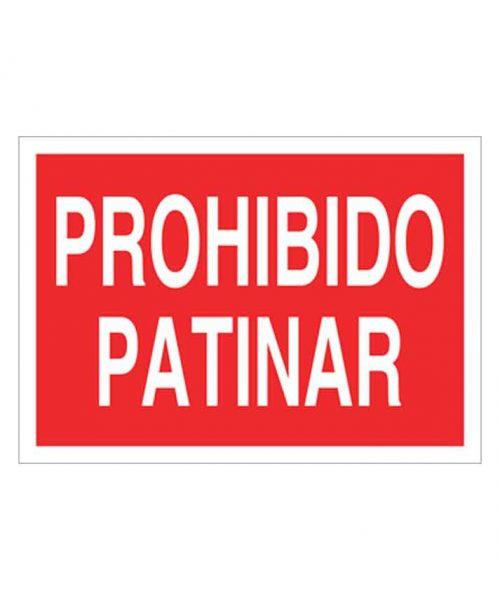 Señal de prohibicion p64t