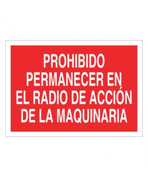 Señal de prohibicion p65t