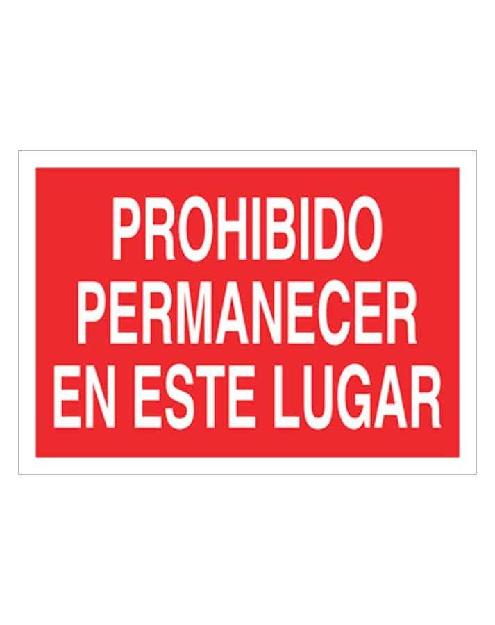 Señal de prohibicion p66t