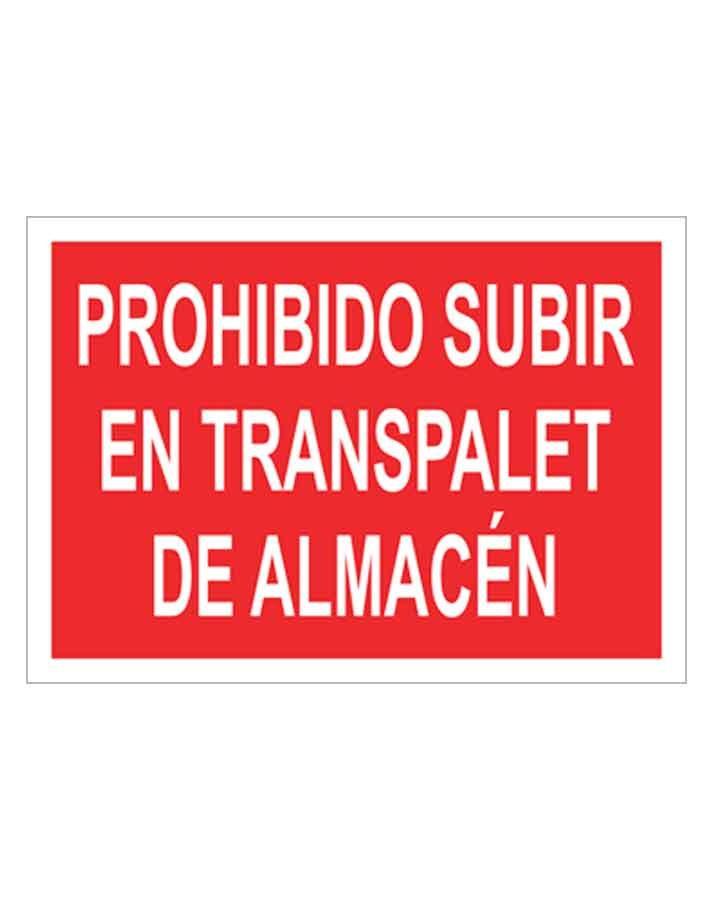 Señal de prohibicion p69t