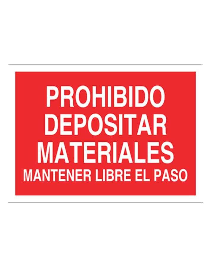 Señal de prohibicion p79t