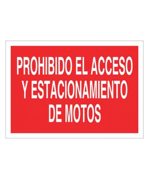 Señal de prohibicion p84t