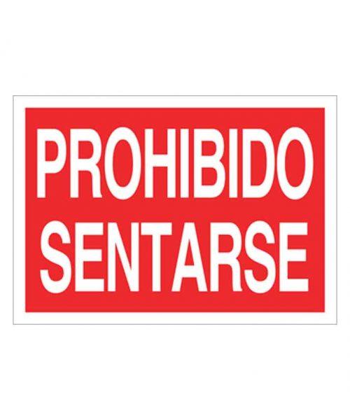 Señal de prohibicion p93t