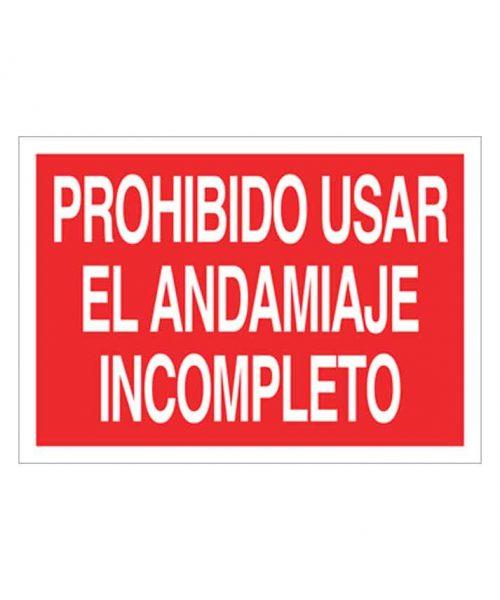 Señal de prohibicion p95t