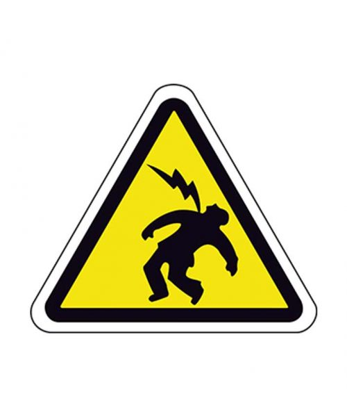 Señal de riesgo a110m