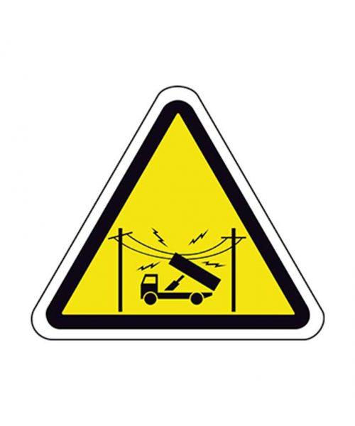Señal de riesgo a111m