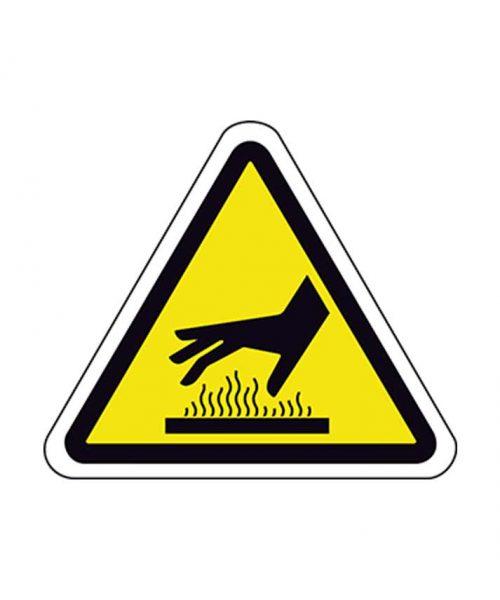 Señal de riesgo a93m