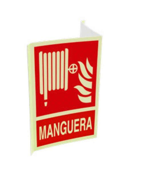 Cartel ISO DIN manguera