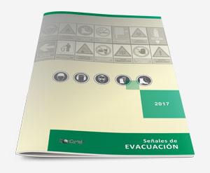 Señal ev52 pvc fotoluminiscente clase a