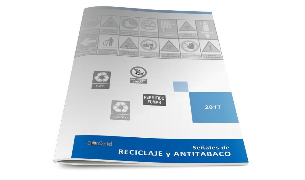 Catálogo Señales Reciclaje y Antitabaco 2017