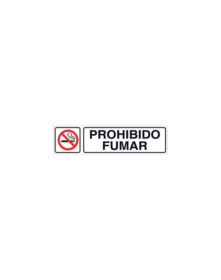 Prohibido fumar cartel