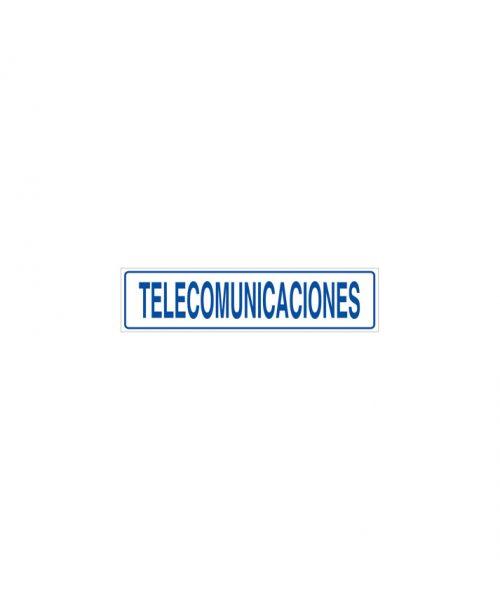 Telecomunicaciones cartel informativo