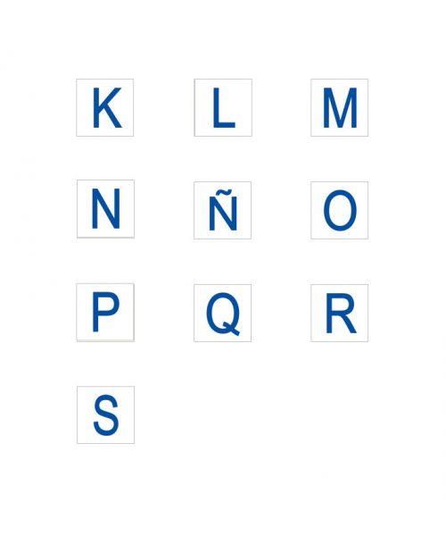 letras k-s carteles informativos