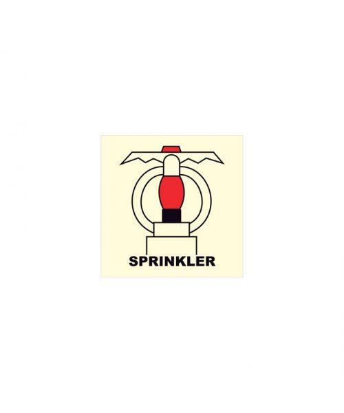 Espacio protegido por sprinklers