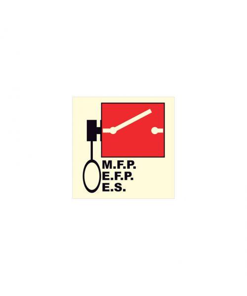 Control remoto bombas incendio e interruptor de emergencia
