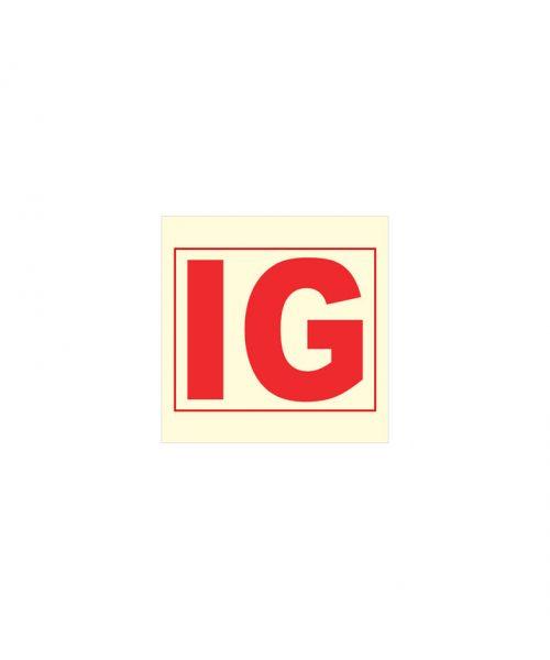 Instalación de gas inerte