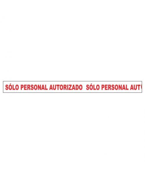 Sólo personal autorizado