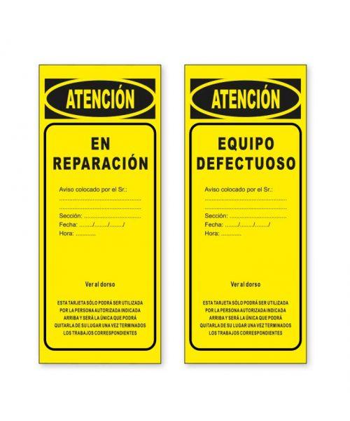 tarjeta de señalizacón T02