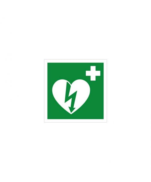 Señal equipo reanimación cardiopulmonar