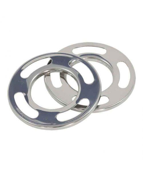 anillo cromado