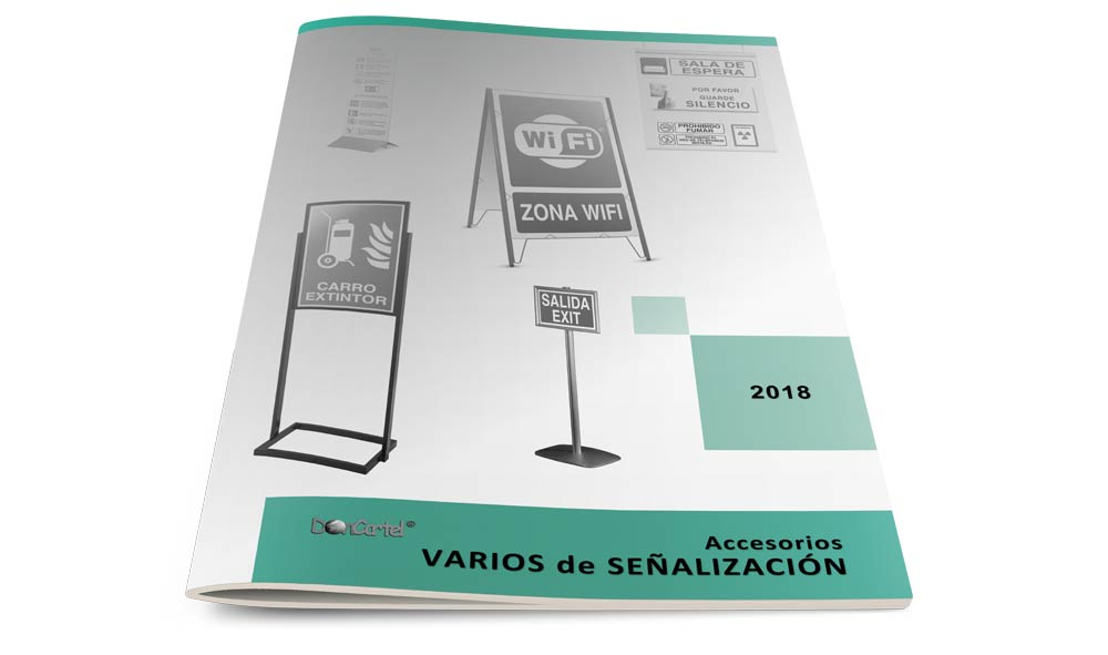 Catálogo Varios de Señalización