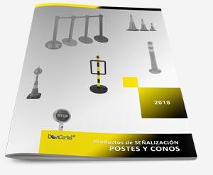 catalogo de postes y conos 2018