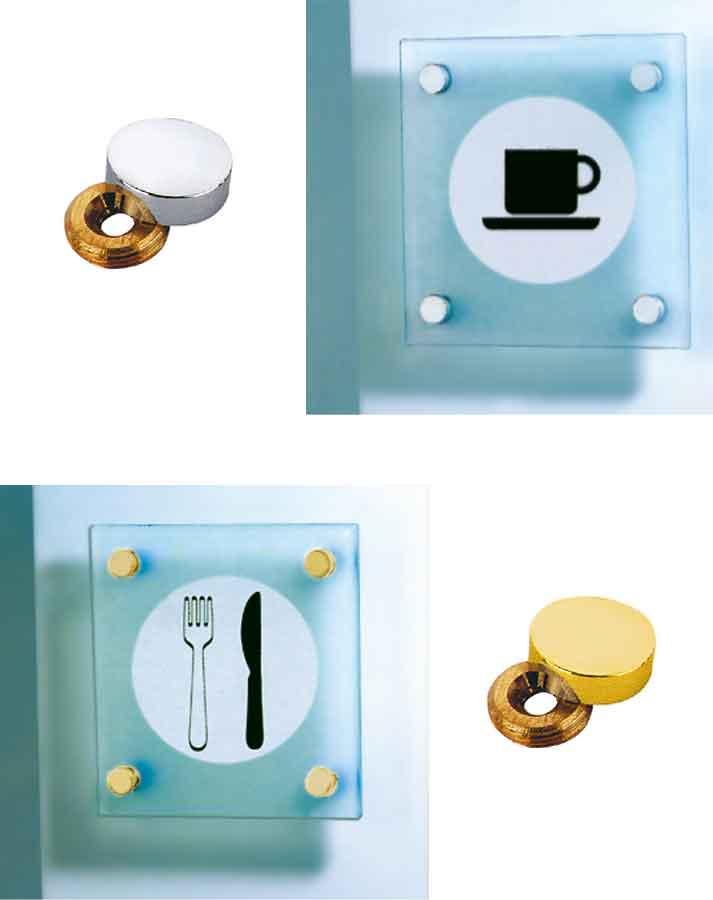 embellecedores para tornillos sistema de anillas y