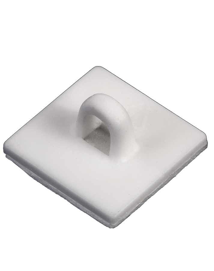 Ganchos adhesivos cuadrados