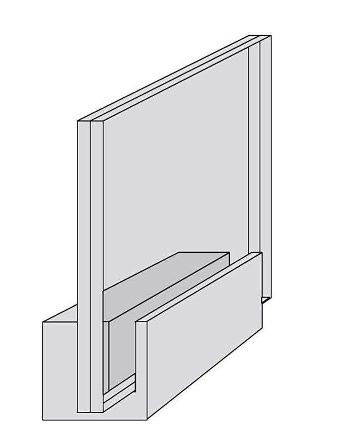 Soporte de aluminio y cristal 3