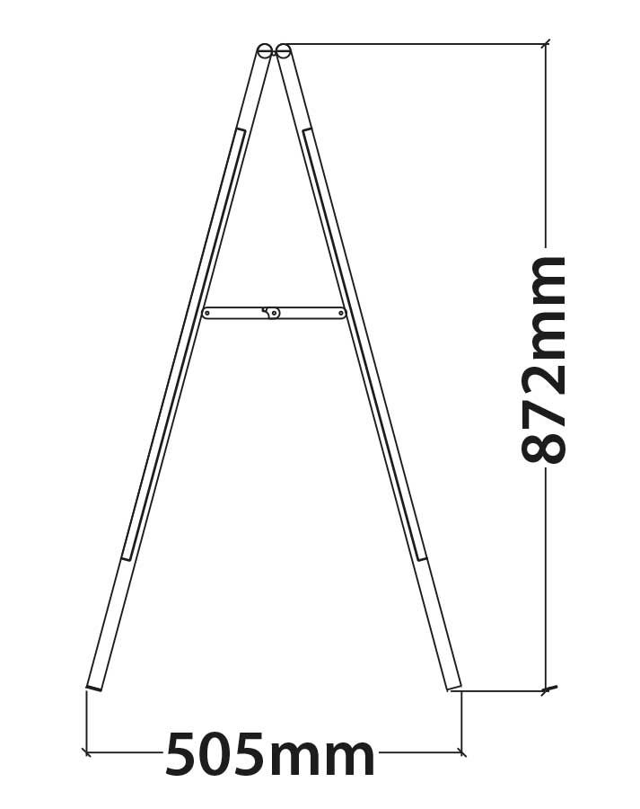 valla de acero plegable medidas 2